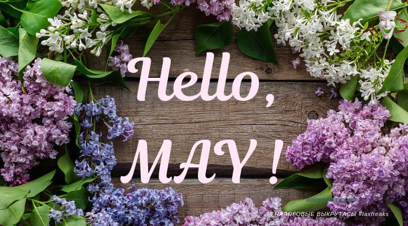 Hello, May ! Привычные заботы и немного отчетов
