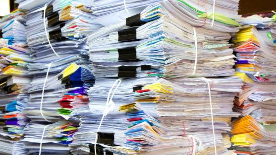 Зачем выносят документы